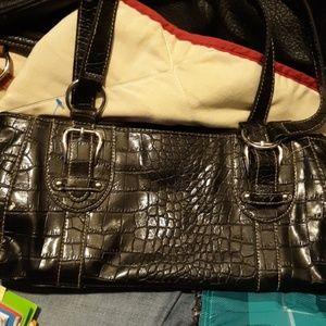 Medium in size Croft & Barrow black bag